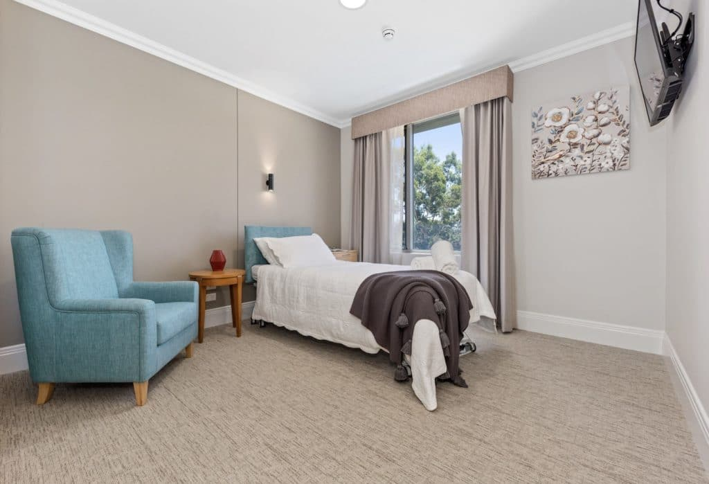 CraigCare-Ascot-Waters-Residential-Aged-Care-First-Floor-Single-Room